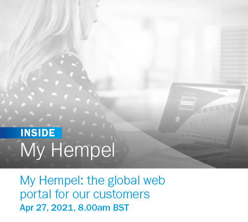My Hempel: the global web portal for our customers